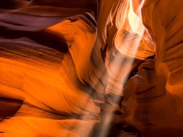 Antelope Canyon Beam